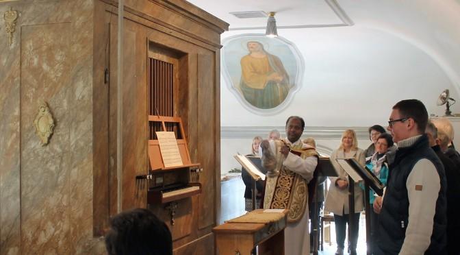 Renovierte Orgel festlich gesegnet