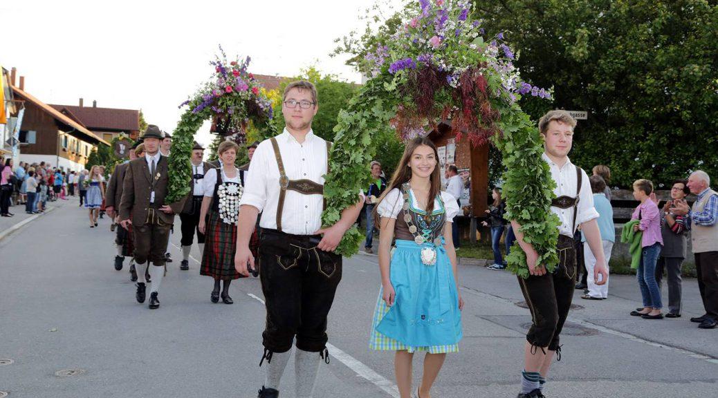 Tauschützenfest in Ebersbach, (c) Heidi Sanz