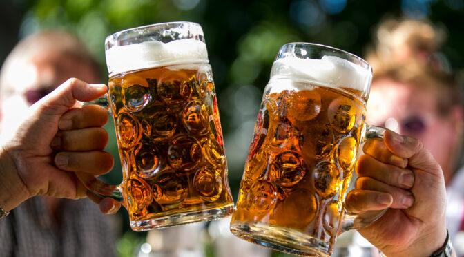 Biergarten wieder offen